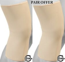 Solace Care Neoprene Knee Long Support Closed Brace Protector Pain Sports (PAIR)