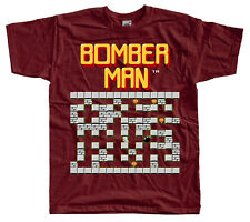 BOMBERMAN STAGE 1 NES game T SHIRT BRICK ALL SIZES S-5XL