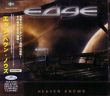 EDGE Heaven Knows + 1 JAPAN CD Swedish Melodic AOR Tommy Denander Seven Wishes