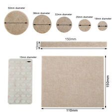 154 X Self Stick Furniture Felt Pads Clear  Wood Laminate Floor Protector Pads