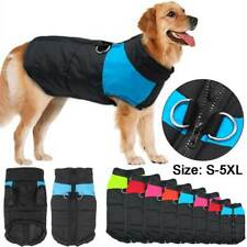Waterproof Small/Large Pet Dog Apparel Clothes Winter Warm Padded Coat Pet Vest