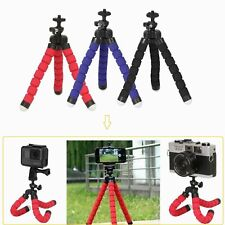 Mini Flexible Sponge Tripod Octopus Stand Handheld Grip For IPhone Camera Video