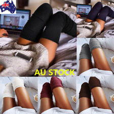 Fashion Women Girl Over The Knee Socks Thigh High Long Cotton Stockings Leggings