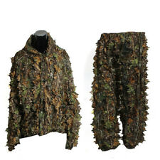 Hunting Clothes 3D Camouflage Hunting Ghillie Suit Shooting Sniper Ghillie Cloak