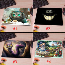 Mousepad Alice in Wonderland Cheshire Cat Anti Slip Mat for PC Laptop Mouse Pad