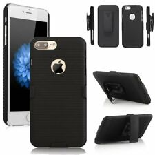 Hard Protective Holster Stand Case Cover With Belt Clip For iPhone X 8 Plus 6S 5
