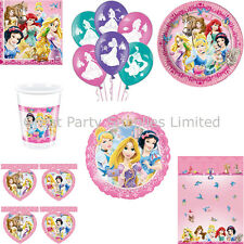 Disney Princess & Animals Party Pack for 8 - Plates Cups Napkins etc - Free P&P