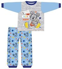 Baby Boys Mickey Mouse Boy Oh So Cute Pyjamas Cotton 6-9 9-12 12-18 18-24 Months