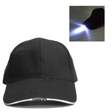 Battery Powered Hat Adjustable Camping Fishing Baseball Cap With 5LED Lights