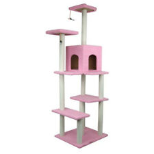 70 inch Cat Tree Bed Furniture Scratching Post Tower Condo Kitten Pet Play House