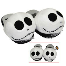 New The Nightmare Before Christmas Jack Skellington Soft Plush Slippers Hot