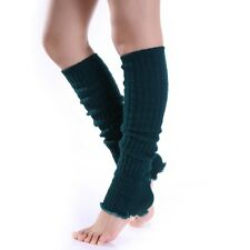 Winter Women Warm Knit Crochet High Knee Leg Warmers Leggings Boot Socks Hot