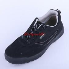 Mens Outdoor Casual Black Shoes Slip Resistant Climbing Hiking Lace Up Sneakers