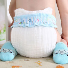 10Layers Cloth Cotton Baby Inserts Nappy Liners Diapers Reusable Washable Diaper