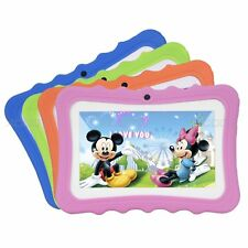 Kids Tablet PC 7'' inch Google Android 4.4 Quad Core 8GB Dual Camera Bluetooth
