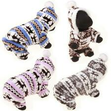 Winter Pet Dog Clothes For Small Dogs Deer Warm Fleece Coat Jackets Costume