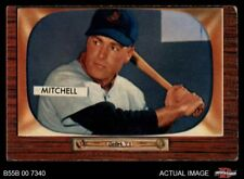 1955 Bowman #314 Dale Mitchell Indians VG