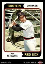 1974 Topps #609 Rico Petrocelli Red Sox NM/MT