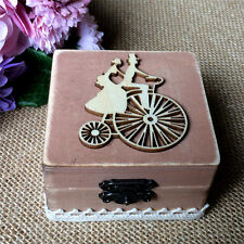Personalized Wedding Ring Box Custom Ring Bearer Box Rustic Wooden Ring Box