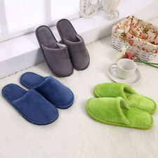 New Casual Men & Women Indoor Slippers Soft Furry Cashmere Warm Comfy Home Shoes