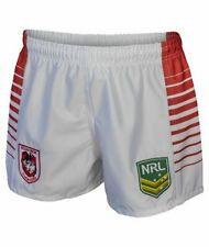 St George Dragons NRL Mens Supporter Shorts BNWT Rugby League Clothing