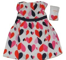 Gymboree Girls Prep Perfect Heart Dress with Winter Tights 18-24 Months NWT