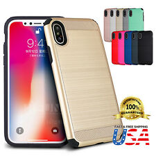 For Apple iPhone X 8 7 Plus Case Shockproof Protective Armor Rugged case Cover