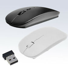 2.4 GHz Slim With USB Receiver Optical Wireless Mouse Mice For Laptop PC Macbook