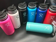 New Wide Mouth 18oz/32oz/40oz Hydro Flask Insulated Stainless Steel Water Bottle