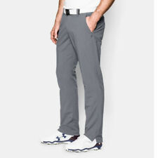 Under Armour Matchplay Mens Golf Trousers - Tapered Leg - Light Grey