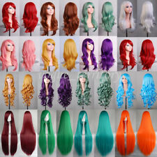 Halloween Cosplay Wig 58cm Heat Resistant Synthetic hair Costume Party Full Wigs