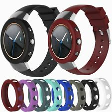 Replacement Bracelet Silicone Band Watch Strap &Frame Shell Case ASUS ZenWatch 3