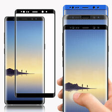 9H Full Cover Curved Tempered Glass Screen Protector For Samsung Galaxy Note 8