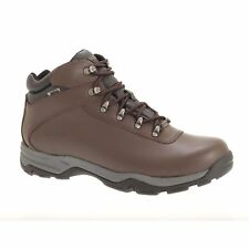Hi Tec Mens Eurotrek Waterproof Coated Leather Hiking Boots (DF616)