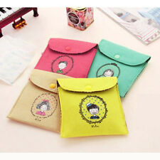 NS New Hygiene Sanitary Napkins Package Small Cotton Storage Bag Purse Case