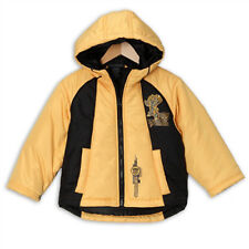 NWT Toddler Boys Transformers Bumblebee Winter Jacket/Coat, Yellow, 2T-4T