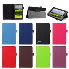 For Amazon Kindle Fire 7  Tablet Magnetic Leather Stand Case Smart Cover UP