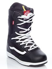 Vans Black-White-Red Mantra Snowboard Boots