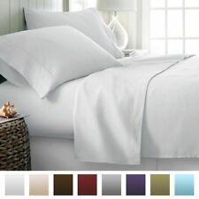 US Bedding Item-100% Egyptian Cotton 1000 TC In USA Size White Solid