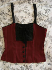 NEW RARE LIP SERVICE NO REST FOR THE WICKED CAMI TOP XS GOTH STEAMPUNK VICTORIAN