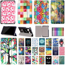 """Leather Slim Folio Case Cover Stand For Huawei Tablet MediaPad T1 T2 T3 7"""" 8"""" 10"""