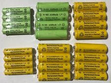 8-pcs 1.2v AA(300/600/800mAh)/AAA 600mAh And Ni-Cd/Ni-MH Rechargeable Battery