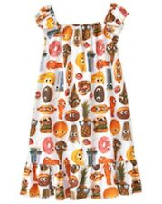 NWT Gymboree Girls Snack nightgown girls size 5-6,7-8,10-12