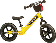 STRIDER Fly Racing Classic Kids Balance Yellow Bike No-Pedal Learn To Ride Pre B