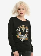 Women's Disney The Lion King Sweatshirt Top Scar Sweater Pullover Jumper, NEW!