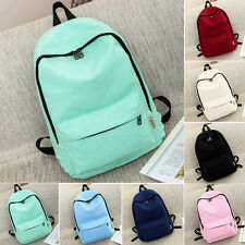 Women Girl' Canvas Shoulder School Bag Backpack Travel Satchel Rucksack Handbag