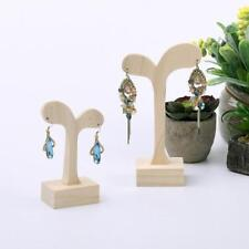 Wooden Jewellery Organizer Holder 2 Sizes Earrings Display Firm Stand Rack