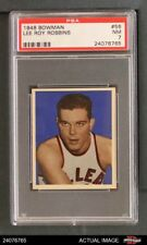 1948 Bowman #56 Lee Roy Robbins Steamrollers PSA 7 - NM