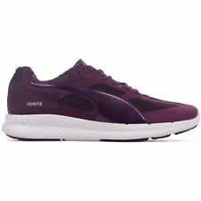 Puma Ignite PWRWARM Womens Running Trainer Shoe Purple