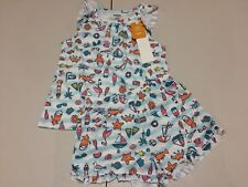 NWT Gymboree Girl pajama Set Short Beach 18-24M,5/6,7/8,10/12